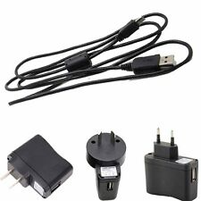 USB AC/DC Wall Adapter Battery Charger Cord for Casio Exilim Camera EX-ZR1200_x0