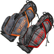 Ogio 2015 Silencer Stand Carry Golf Bag - 14 Way Divider Club Protection System