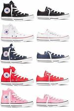 NEW CONVERSE CHUCK TAYLOR ALL STAR CLASSIC KIDS SHOES BLACK/WHITE/BLUE/RED/PINK