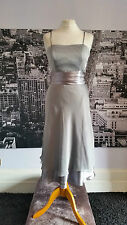 Watters & Watters dress, Bridesmaid, Prom, Ball, RRP £149 (style Sample Silver)
