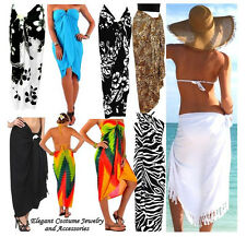 Winter Cruise Choice of Color Swim Beach Wrap Sarong Pareo Cover Shawl Scarf