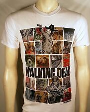 THE WALKING DEAD TWD ICONIC IMAGES COLLAGE SANCTUARY DEAD INSIDE T SHIRT S-3XL