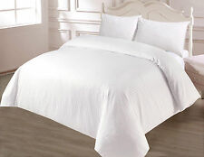 Hotel Style 500 Thread Count 100% Egyptian Cotton Satin Stripes Duvet Cover Sets
