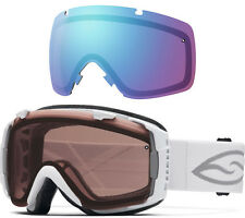 SMITH OPTICS I/O Ski/Snowboard Goggles - Bonus Lens Included - Polarized