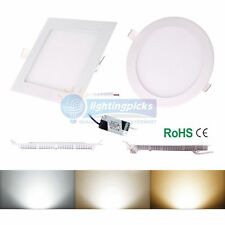 6W/9W/12W/15W/18W/21W LED Recessed Ceiling Dimmable Down Panel Light Lamp E3A