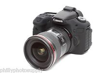 easyCover Armor Black Protective Skin for Canon EOS 60D - Free US Shipping!