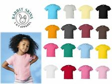 Rabbit Skins Toddler Short Sleeve T-Shirt Boys Girls Shirts 2T 3T 4T - 3301T