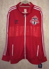 ADIDAS Breakaway Toronto FC Football Club Red Soccer Track Jacket NEW Mens 2XL