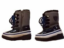 NWT Boy's Totes kids blue black winter snow boots ~ 7 8 9 10 FREE SHIPPING!