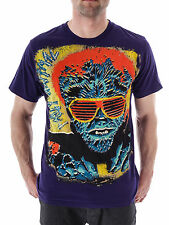 Iron Fist T-shirt Shirt Party Animal purple Pressure Crew neck short sleeve