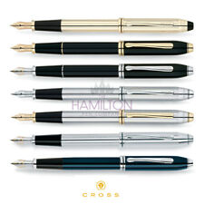 CROSS TOWNSEND FOUNTAIN PEN - available in 7 classic, timeless finishes