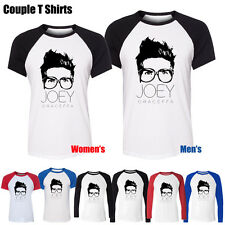 Funny Youtube Celebrity Joey Graceffa Graphic Men's Women's Couple T Shirt Tops