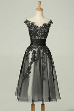 Grace Karin Vintage Style Short Lace Cocktail Evening Prom Party Ball Gown Dress