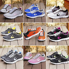 Womens Sports Trainers Gym Jogging Breathable Mesh Running Casual Ladies Shoes