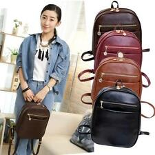 Cute Lovely Casual Women Girl Faux Leather Rucksack Backpack Bag Women Schoolbag