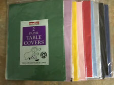 CAROLINE PAPER TABLE COVERS 90cmx90cm Approx
