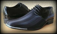 NICE OXFORD ITALIAN STYLE MENS DRESS/CASUAL SHOES COLOR BLACK EXCELLENT QUALITY