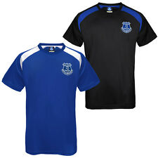 Everton Football Club Official Soccer Gift Mens Poly Training Kit T-Shirt