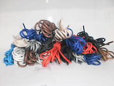 2.5mm WIDE THIN COTTON LACES FOR LEATHER SHOES / BROGUES 6 SIZES 13 COLOURS