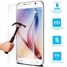 Real Tempered-Glass Film Screen Protector Guard Cover For Samsung Cell Phone
