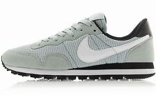 NIKE WOMENS AIR PEGASUS '83 Grey-White suede-mesh running training sneakers new
