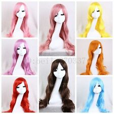 New Lady Long Fashion Curly Wave Hair Women Wigs Full Wig Heat Resistant Cosplay