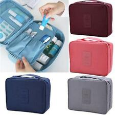 6 Colors Travel Cosmetic Makeup Toiletry Purse Organizer Hanging Wash Bag Holder