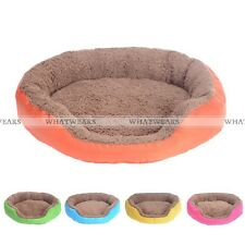 Small Large Pet Dog Puppy Cat Soft Fleece Warm Bed House Cotton Nest Mat Bed FOZ