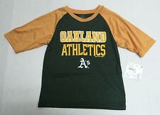 Oakland Athletics Baseball MLB  Genuine Merchandise Youth Athletic Shirt