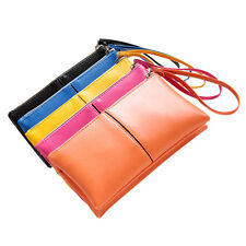 Fashion Women Clutch Long Purse Leather Wallet Card Holder Handbag Zipper Wallet