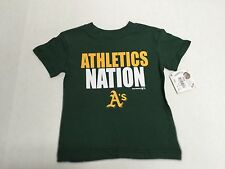 Oakland Athletics Baseball MLB  Genuine Merchandise Youth Cotton T-Shirt