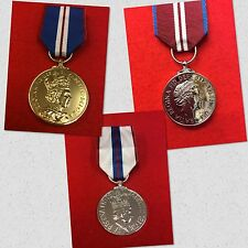 High Quality Full Size Diamond Golden Silver Jubilee Medal Diamond Jubilee Medal