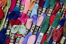 DMC Embroidery Floss Solid Colors #604-#777