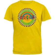 Grateful Dead - Rainbow Bears Yellow Youth T-Shirt
