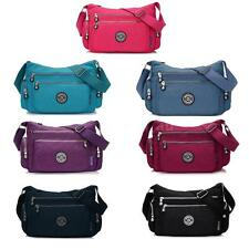 Women Lady Shoulder Messenger Bag Tote Nylon Crossbody Handbag Hobo Purse NEW
