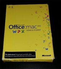 κ (MN) Genuine Microsoft Office Apple Mac 2011 Home and Student Latest Version