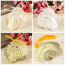 50 Pcs Butterfly Party Wedding Favor Gift Candy Bomboniere Boxes Baby Shower
