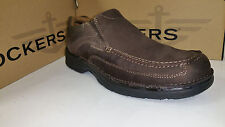 Dockers Melvane Light Weight Flexible Durable Outsole Dark Brown Shoes size 7-12