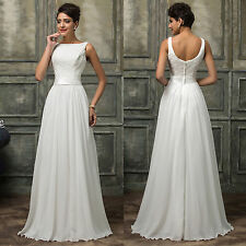 VINTAGE STYLE  Long Evening Party Cocktail Wedding Gowns Bridesmaid Prom Dresses