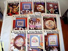 CROSS STITCH & COUNTRY CRAFTS MAGAZINES BACK ISSUES YOU CHOOSE!  80'S 90'S F