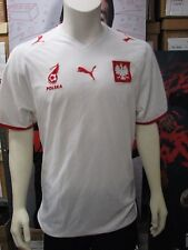 Puma Poland National Team '07-'09 Home Soccer Replica Jersey-White-NWT