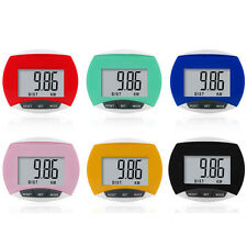 LCD Digital Step Pedometer Run Distance Calorie Walking Counter Pocket Clip