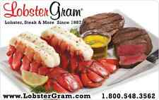 Lobster Gram Gift Card $25 $50 $100 - mail delivery
