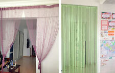 Lovely Decorative String Curtain With Bead Door Window Panel Room Divider New
