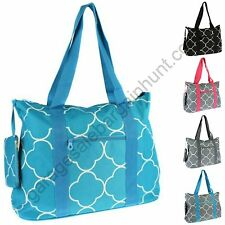 Large Canvas Tote Bag Weekender Beach Gym Diaper Teacher Nurse Handbag Purse
