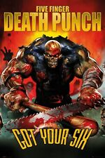 Five Finger Death Punch Got Your Six 5FDP Poster 61x91.5cm