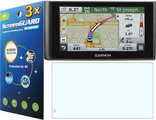 3x Clear Anti-Glare Matte LCD Screen Protector for Garmin nuviCam dezlCam GPS