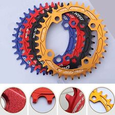 GEAR KING Narrow Wide Single Oval Bike Chainring Chain Ring 104BCD - 32 34 36T
