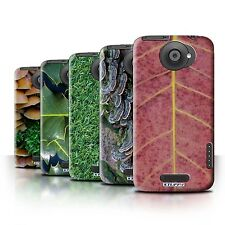 Case/Cover for HTC One X / Plants/Leaves