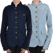 Fenchurch Veronica Womens Ladies Military Buttoned Coat Jacket